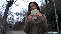 Image: Public Agent Outdoor orgasms for Serbian beauty