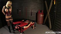 Monicamilf is squiring on her femdom slave - Norwegian Kink Preview