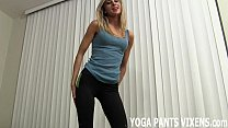 I know how hot I look in these tight yoga pants JOI Vorschaubild