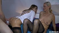 Two Milfs fucked hard with a young Student Vorschaubild