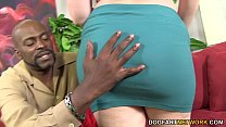 Felicia Clover's vagina gets pounded by huge bl...