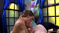 Silvia dellai in reverse cow girl and cums actions