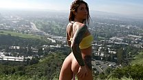 Felicity Feline outdoors public masturbation an... Thumbnail