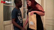 FunMovies Chubb y German housewife cuckold wit ife cuckold with a big black man