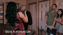 (Seth Gamble, Gina Valentina, Xander Corvus, Romi Rain) - The Summoning Scene 4 - Digital Playground
