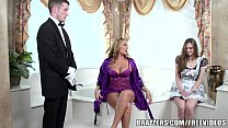 Brazzers - Sexy bathroom threesome Thumbnail