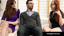 Penny Pax & Jay Taylor Get Fucked By Alex Legend As Nerds! - 9Club.Top