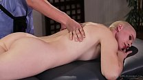 Celebrity in the massage parlour - Riley Nixon and Giselle Palmer