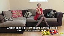 FakeAgentUK Creampie for hot european girl that loves rimming Vorschaubild