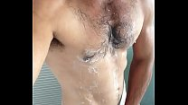 Hot cock in shower