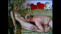 VERY CUTE German Teen Stripping & Having sex with Older Guys