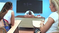 Capri Cavanni Schoolgirl Threesome thumb