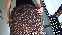 Hot Cougar Convinces The Plumber