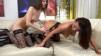 Brunettes DRENCH Each Other In Their Golden Piss