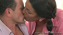 creamed gets brunette mature Mom