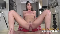Beauty contesta nt Sybil opens up and fucks PO up and fucks POV