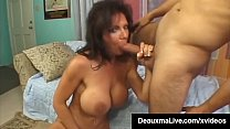 Texas Cougar Deauxma Shoots Her Girl Cum While Fucking!