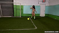 Booty Soccer with Remy LaCroix and Jada Stevens thumbnail
