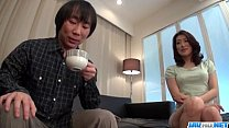 Marina Matsumoto gets fucked until a huge creampie end