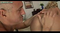 Slut doing blowjob and gets drilled with toys