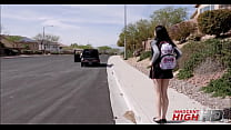 Young h. Girl Marley Brinx Picked Up By Teacher And Taken To Hotel To Fuck