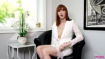 SEXY GINGER HAIRED GIRL TAKES BBS AND SCREAMS FOR MORE Thumbnail