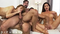 BiPhoria   2 Bisexual Couples Have Wild Foursome