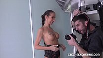 Skinny cougar shows she still has it