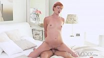 MOM Redhead Milf gets a good fucking before creampie from young stud thumbnail