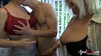 AgedLovE Lacey Starr Eva and Marcus Threesome thumb