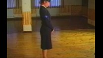 British Naval Woman Caned