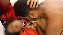 Ajayanita threesome with nikhil part 1