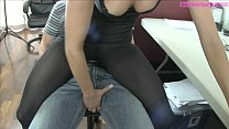 Teasing Ballbusting Assistant Ashley Sinclair PART 1