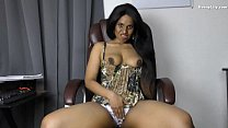 Sexy Indian Boss blackmails role play in Hindi English preview image