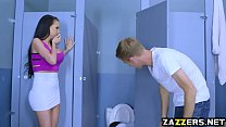 Raven Bays pussy drilled hard by Danny Ds big cock