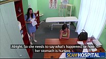 Hot teen Coco gets her pussy rammed by her doctor for a free hot medication