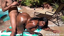 Majiik Montana and Trap Barbie Fuck By The Pool (Bonus Footage)
