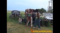Hard Sex With Her Master Makes Obedient African Girl Scream In Orgasm image