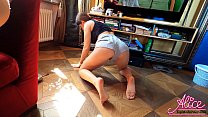 Sexy Wife Blowjob and Hardcore Sex POV after House Cleaning Vorschaubild