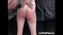 So red ass from spanking