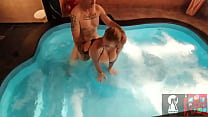 """""""VIDEO 65"""" (Fucking In The Jacuzzi Part 2) Those Huge Tits Have To Be Watered With A Lot Of Milk Every Day!"""
