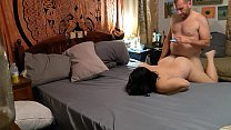 Chubby MILF gets fucked, has an orgasm, and rides cock Preview