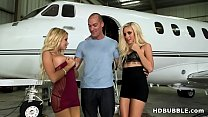 Fuck teens on my Private Jet! # Naomi Woods, Marsha May Thumbnail