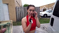 Scooping Up a Sexy Chonga with a Big Ass in Miami, FL (bb15113) pornhub video