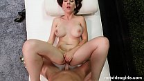 Hot MILF With Big Tits Creampied During Audition صورة