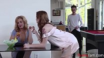 Sister Helps Brother On Mom's Instructions- Rosalyn Sphinx