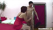 Screenshot Stepson Caught Jerking By Her Stepmom In Panties