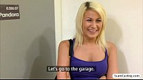 Beautiful blonde Yenna shows her natural tits f...
