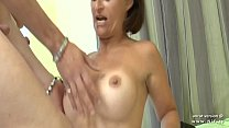15816 Busty amateur french housewife double penetrated and cum covered in a gangbang preview