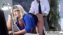 Sex In Office With Big Melon Boobs Slut Worker Girl (julie cash) vid-17